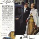 1930's BUICK Auto Vintage Print Ad