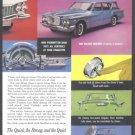 1960 CHRYSLER Auto Vintage Print Ad