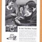 1957 GRAFLEX Camera Vintage Print Ad