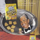 George Hamilton 2007 Wheat Thins Print Ad