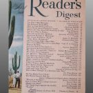 1956 READER'S DIGEST April Issue Magazine