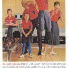 1960 COCA-COLA Vintage Print Advertisement