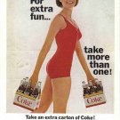 1965 COCA-COLA Vintage Print Advertisement