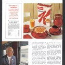 1963 KELLOGG'S Cereal Vintage Print Advertisement