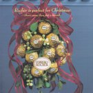FERRERO Rocher 2001 Candy Print Advertisement