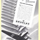 1940 DOUGLAS Aircraft Vintage Print Advertisement
