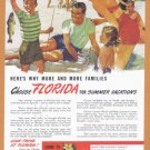 1940's FLORIDA Travel Vintage Print Advertisement