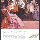 1958 ITALIAN Line Cruise Vintage Advertisement