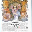 1975 MEXICO Travel Vintage Print Advertisement