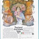 1975 MEXICO Travel Vintage Print Advertisement