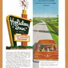 1962 HOLIDAY INN Travel Vintage Print Advertisement