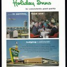1963 HOLIDAY INN Travel Vintage Print Advertisement