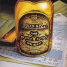 CHIVAS REGAL 1979 Vintage Print Advertisement