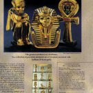1990 KING TUT Franklin Mint Magazine Print Advertisement
