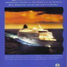 CRYSTAL CRUISES 1995 Magazine Print Advertisement