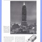 1935 AGFA FILM Empire State Bldg Vintage Print Advertisement