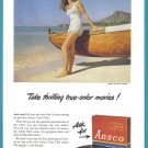 1948 ANSCO FILM Vintage Print Advertisement