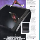 CARL LEWIS Panasonic TV 1992 Magazine Print Ad