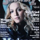 MADONNA Showbiz Magazine 2001 Cover Page