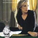 ROLEX Watch 2008 Diana Krall Magazine Print Ad