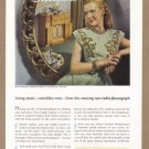 1946 G-E Musiphonic Radio Phonograph Vintage Print Ad