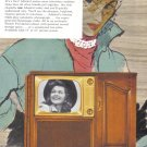 1953 ADMIRAL TV Vintage Print Advertisement