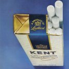 1975 KENT Cigarettes 2-Pg Vintage Print Advertisement