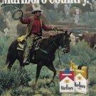 1981 MARLBORO Cigarettes Vintage Print Ad