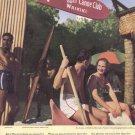 1936 HAWAII Waikiki Vintage Travel Print Advertisement