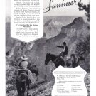 1936 Union Pacific Railway Vintage Travel Print Ad