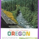1964 OREGON Travel Vintage Print Advertisement