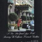 1979 Beverly Wilshire Hotel Magazine Print Ad