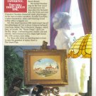 1987 DISNEY World Hotel Magazine Print Ad