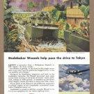 1945 STUDEBAKER Tanks WWII Era Vintage Print Ad
