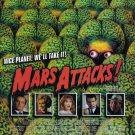 MARS ATTACKS! 1996 Movie Print Magazine Advertisement
