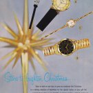 1957 HAMILTON Watch Vintage Magazine Print Ad