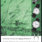 1959 HAMILTON Watch Magazine Print Ad