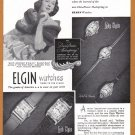 1948 ELGIN Watches Magazine Print Ad