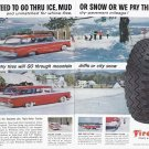 1959 FIRESTONE Tires Magazine Print Ad
