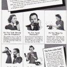 1940 BELL Telephone Vintage Magazine Print Ad