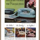 1960 BELL Telephone Vintage Magazine Print Ad