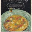 1938 HORMEL Soup Vintage Magazine Print Ad