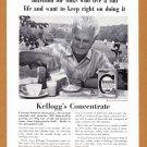 1961 KELLOGG'S Cereal Vintage Magazine Print Ad