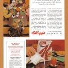 1964 KELLOGG'S Cereal Vintage Magazine Print Ad