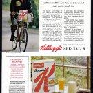 1963 KELLOGG'S Cereal Magazine Vintage Print Ad