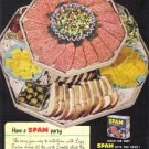 1947 SPAM Hormel Canned Ham Magazine Print Ad