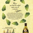 PAUL NEWMAN Salad Dressing 2001 Magazine Print Ad