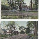CANADA Vintage Postcards [lot of 2]