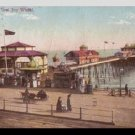 Hastings Pier ~ Sussex ENGLAND 1900's Postcard