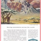1959 Union Carbide Illustrated Vintage Print Ad